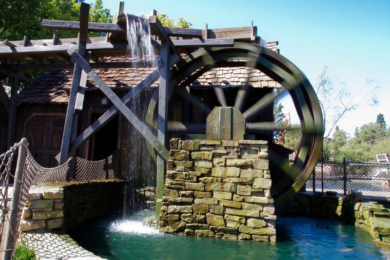Long Exposure Waterwheel Picture