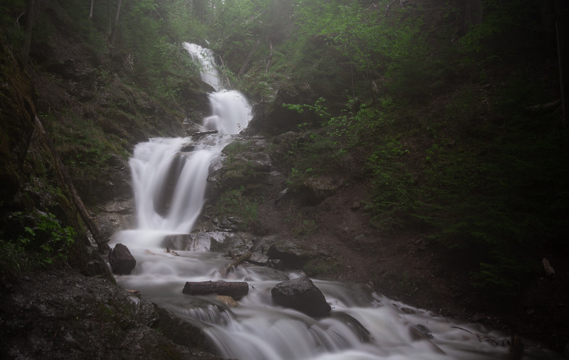 Anglemont Falls