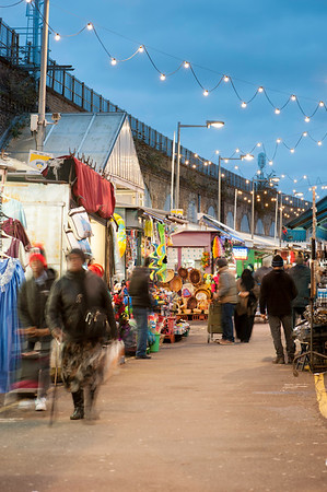 Shepherd's Bush Market, Goldhawk Road, London, United Kingdom