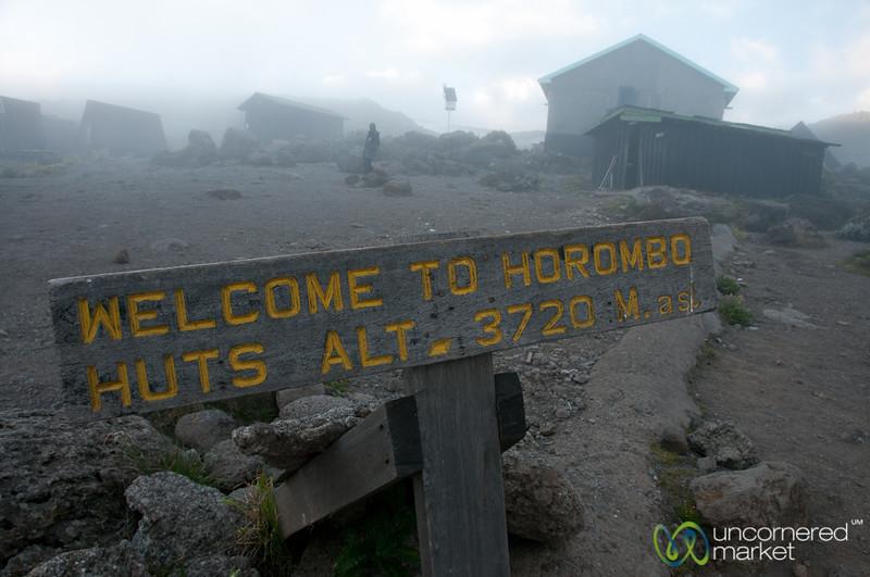 Horombo Huts - Mt. Kilmanjaro, Tanzania