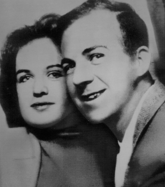 """. Oswald and his wife, Marina, had this photo taken at a Dallas bus station photo booth in 1962. Marina later said that although her life with Oswald was difficult, they remained together because, \""""We were so dependent on each other.\"""" Associated Press file"""