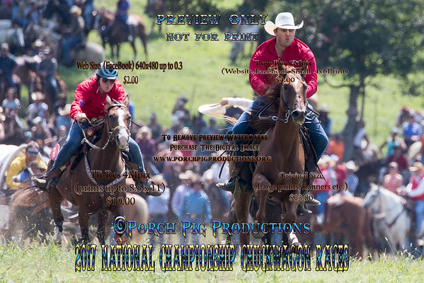 Friday 2017 National Championship Chuckwagon races