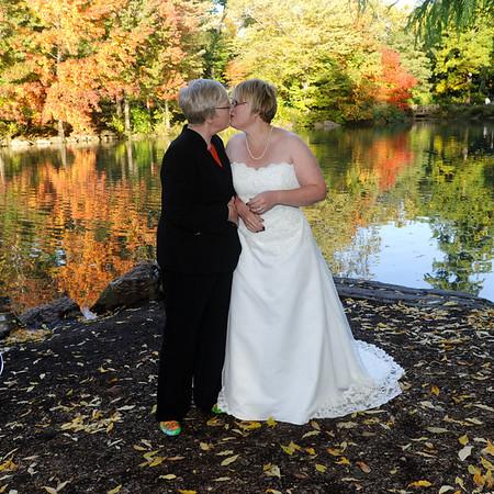 """Central Park Wedding """" JODY & ANN """" 10-20-12"""