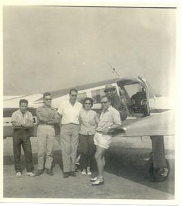 Cessna 310  (passaro azul) CR - LEF (Lima Echo Foxtrot) Casal João Novo, Valente e???
