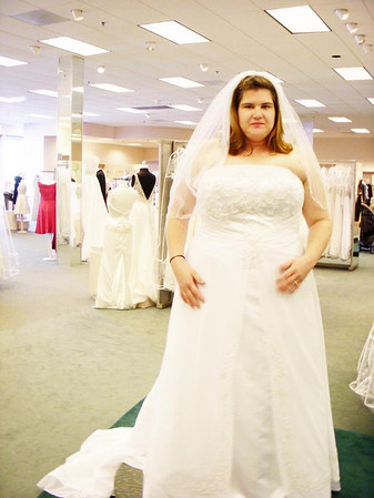 Dress Shopping and Fitting