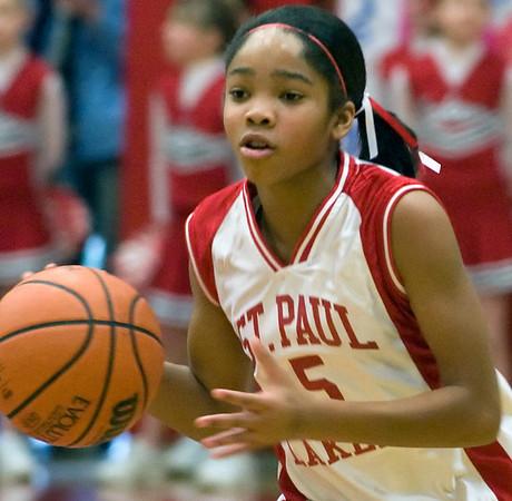 St. Paul Lakers, Girls Varsity, CYO Quarterfinal
