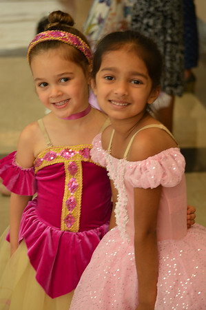 Pictures of Samantha from Hope's ballet recital