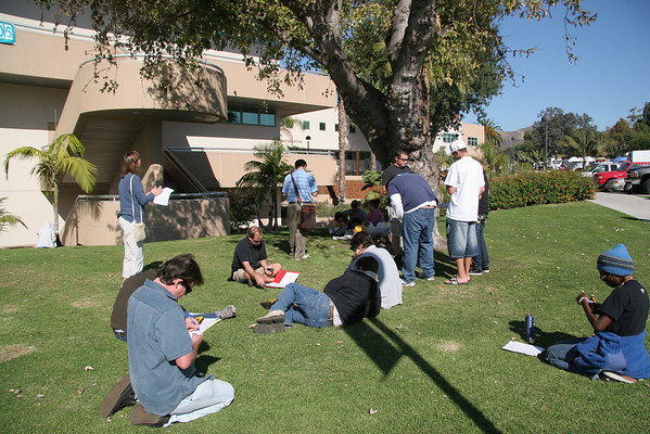 Ventura College GPS class Fall 2008