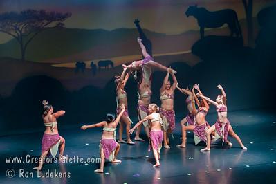 Dance Recital - Dancers Edge Goes Wild - 6-27-2014 - 2nd Half