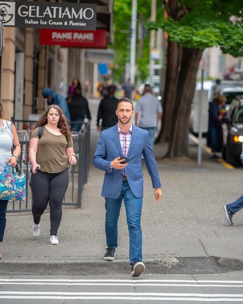 Some dapper ass dude, downtown Seattle, June 2018