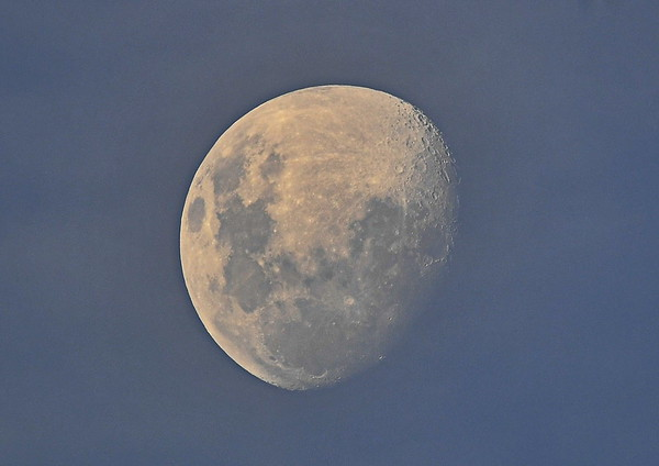 Moon above