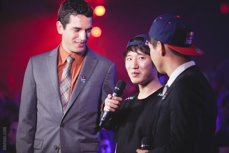 Axeltoss interviews Bomber after his win over DongRaeGou.