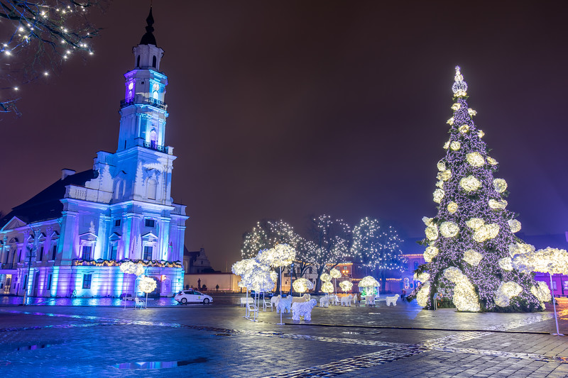 Kaunas City Hall, in HDR