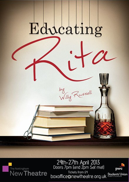 Educating Rita poster