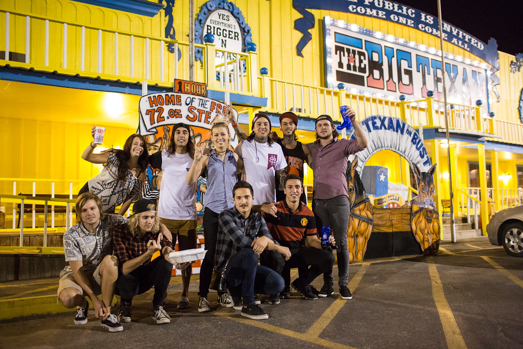 Tonight Alive and Pierce The Veil at The Big Texan