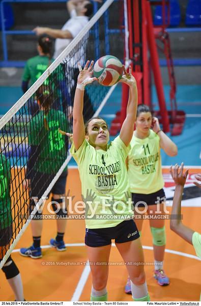 School Volley Bastia - Team 80 Gabicce | 16ª #B2F