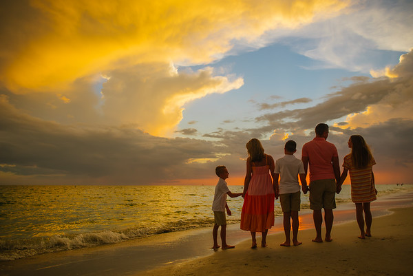 Treasure Island Beach Resort Family Photos