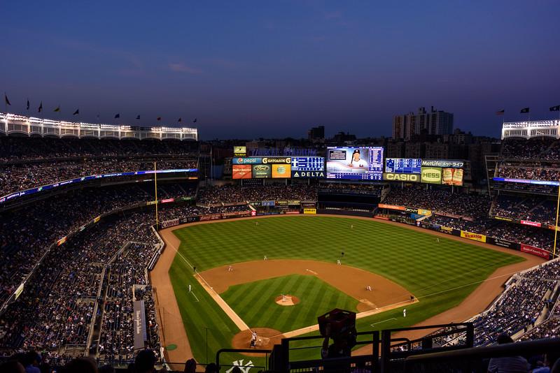 Yankee Stadium at Dusk