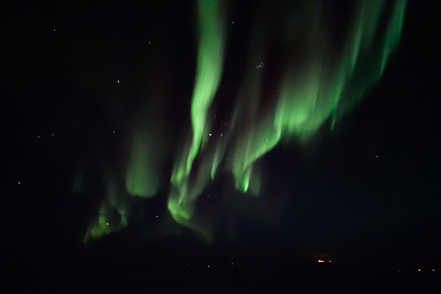 Handheld Northern Light photography