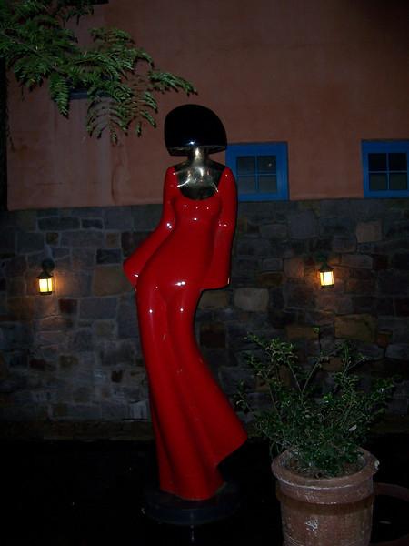 A sculpture.  Cool.
