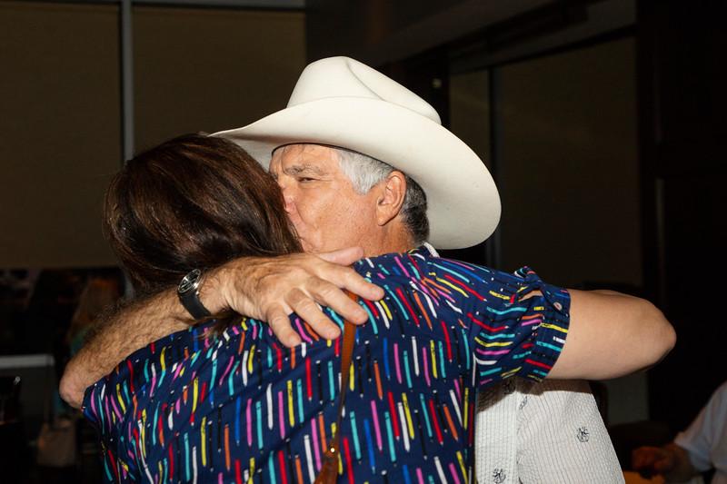Glenn Franklin 70th birthday party at Marie Gabrielle Restaurant in Dallas Texas on June 3, 2018. (Photo/Sharon Ellman)