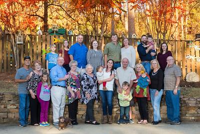 Glenn Family Thanksgiving 2016