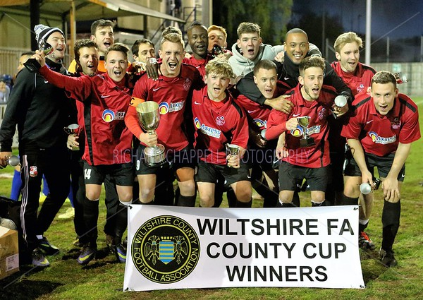Highworth V Bradford Wiltshire County FA Senior Cup Final 29th April 2015
