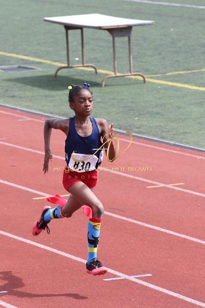 Dev4: 8 & Under Girls 100m Trials