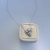 .82ctw Edwardian Bow Motif Diamond Pendant 13