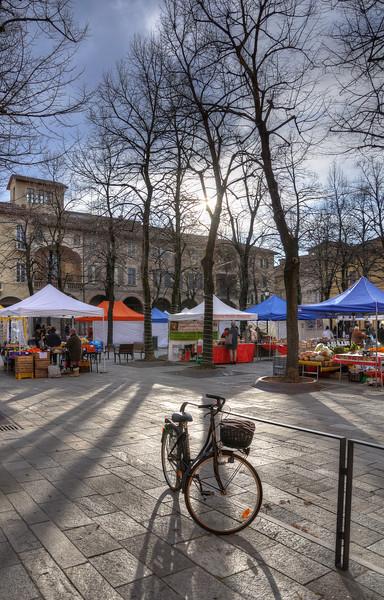 Piazza Fontanesi - Reggio Emilia, Italy - December 17, 2011