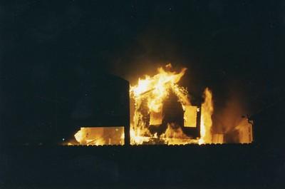 Starwood Lane & Snowbird Way Fire 1997