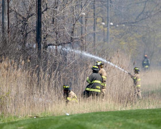 Euclid Fire Dept - Brush Fire