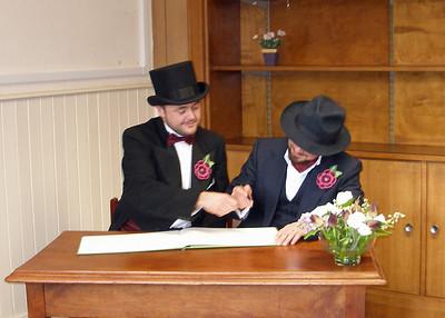 Luke and Dan's Register Office Wedding  07/12/2015