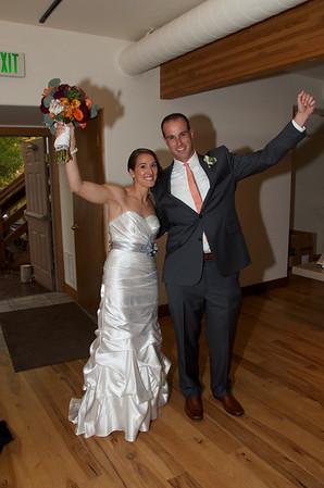 Laura and Matt Wedding: Reception Grand Entrance