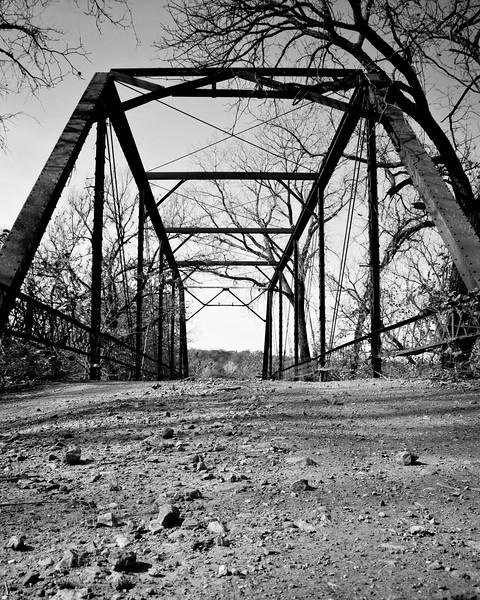 Bear Creek Bridge, Lincoln  County Oklahoma