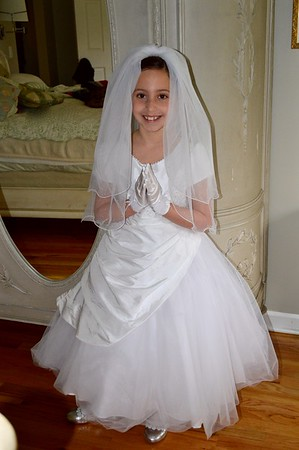 Scarlet's First Communion