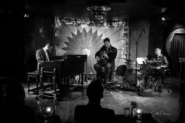 Chris Hovan Organic Trio - Cliff Bell's - 1-4-2020