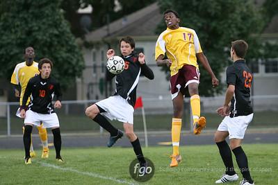 Minneapolis South v Roosevelt Boys Soccer 9-16-11
