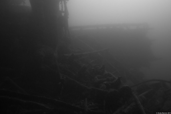 Wreck of the Muscallonge (Muskie)