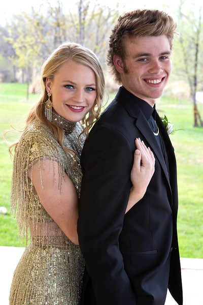 Kara and Evan Banquet 2018