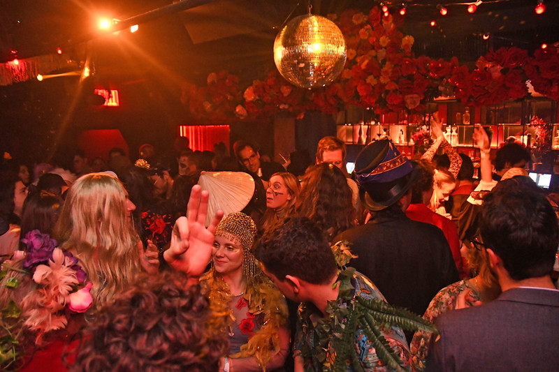 Vida y Muerte Halloween Party at Casa Bocado