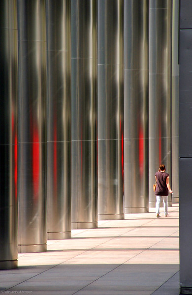 Person and Pillars