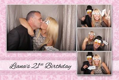Liana's 21st Birthday Photostrips