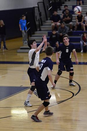 OE boys Varsity Volleyball Vs Minooka 2015