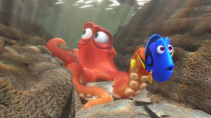 FINDING DORY brings bubble extravaganza, interactive displays, opening night double-feature and more