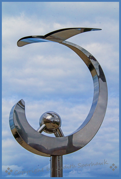 Sculpture at the Beach - Judith Sparhawk