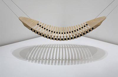 Adam Cornish, hamaca de madera escultórica