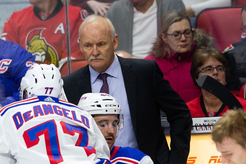 NHL 2018: Rangers vs Senators  NOV 29
