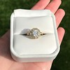 1.97ctw Antique Cluster Ring, GIA G SI2 10