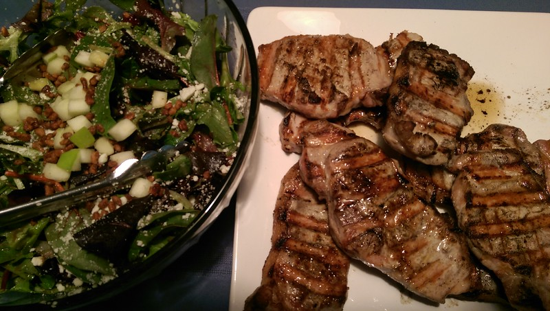 2015-01-25 Pork Chops_Salad.jpg
